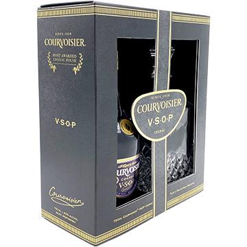Courvoisier VSOP Cognac Gift Set with Decanter