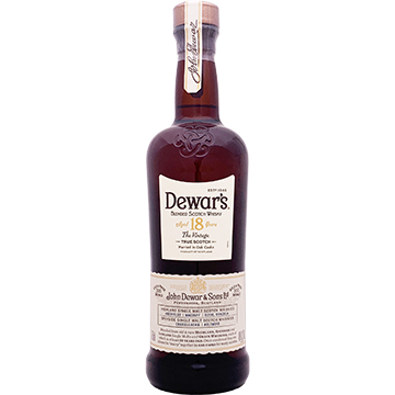 Dewar's 18 Year Old Blended Scotch Whiskey