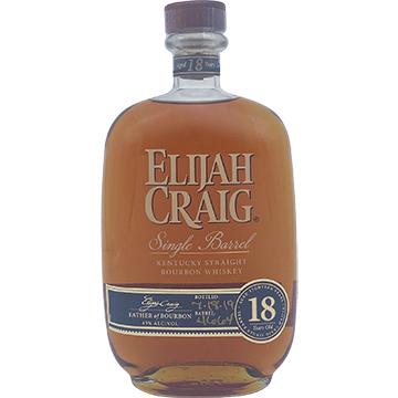 Elijah Craig 18 Year Old Single Barrel Bourbon Whiskey