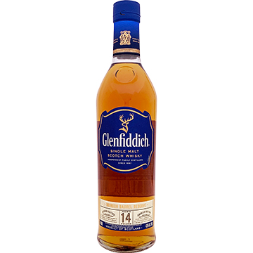 Glenfiddich Bourbon Barrel Reserve 14 Year Old Single Malt Scotch Whiskey