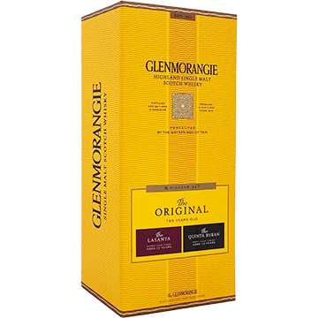 Glenmorangie Original 10 Year Old Single Malt Scotch Whiskey Pioneer Gift Pack