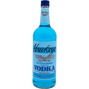 Hawkeye Blue Raspberry Vodka