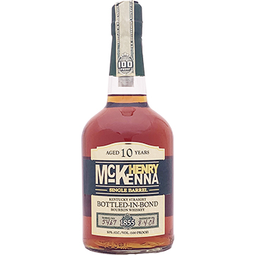 Henry Mckenna 10 Year Old Single Barrel Bottled in Bond Bourbon Whiskey