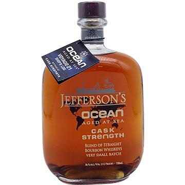 Jefferson's Ocean Aged Cask Strength Bourbon Whiskey