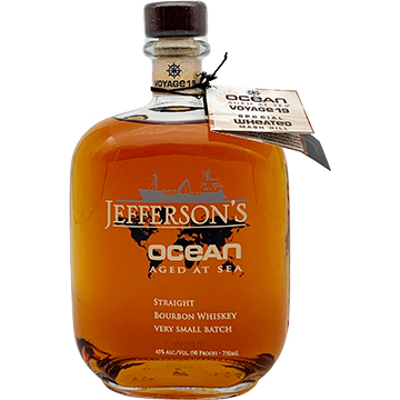 Jefferson's Ocean Aged at Sea Voyage 19 Special Wheated Mash Bill Bourbon Whiskey