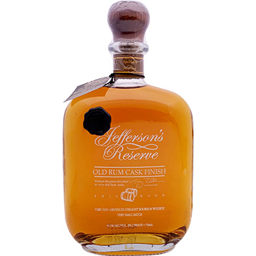 Jefferson's Reserve Old Rum Cask Finish Bourbon Whiskey