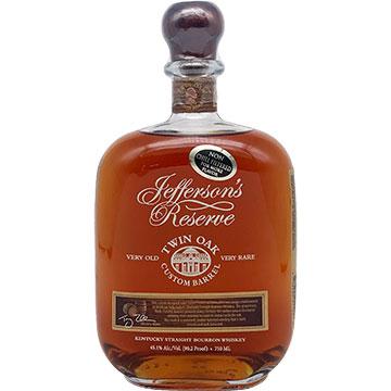 Jefferson's Reserve Twin Oak Custom Barrel Whiskey