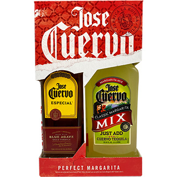 Jose Cuervo Especial Gold Tequila with Margarita Mix Pack