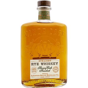 Minor Case Sherry Cask Finished Straight Rye Whiskey