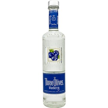 Three Olives Blueberry Vodka