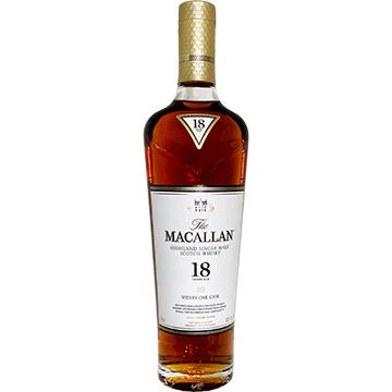 The Macallan Sherry Oak 18 Year Old Single Malt Scotch Whiskey
