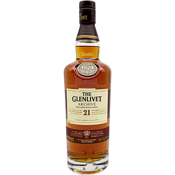 The Glenlivet Archive 21 Year Old Single Malt Scotch Whiskey