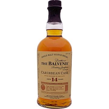 The Balvenie Caribbean Cask 14 Year Old Single Malt Scotch Whiskey