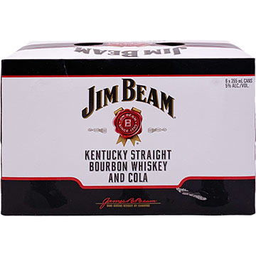 Jim Beam Bourbon Whiskey & Cola