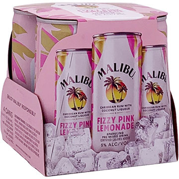 Malibu Fizzy Pink Lemonade Cocktail