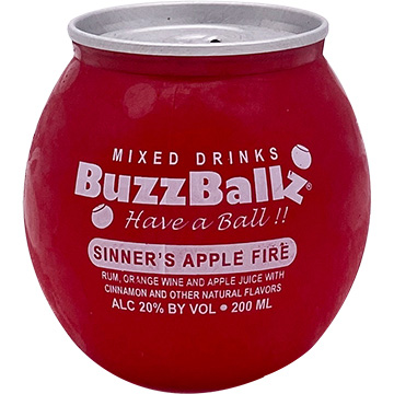 Buzzballz Sinner's Apple Fire