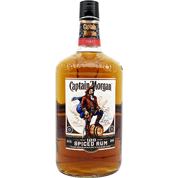 Captain Morgan 100 Proof Spiced Rum