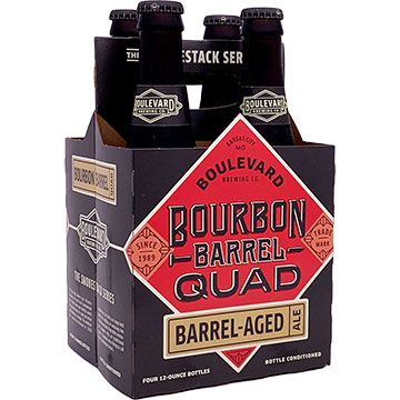 Boulevard Bourbon Barrel Quad