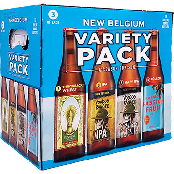 New Belgium Folly Variety Pack