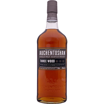 Auchentoshan Three Wood Single Malt Scotch Whiskey