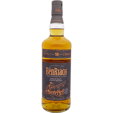 BenRiach 10 Year Old Single Malt Scotch Whiskey