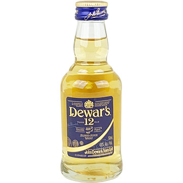 Dewar's 12 Year Old Blended Scotch Whiskey