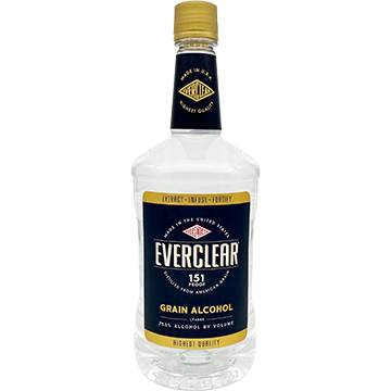 Everclear 151 Proof Grain Alcohol