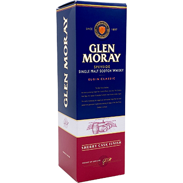 Glen Moray Elgin Classic Sherry Cask Finish Speyside Single Malt Scotch Whiskey