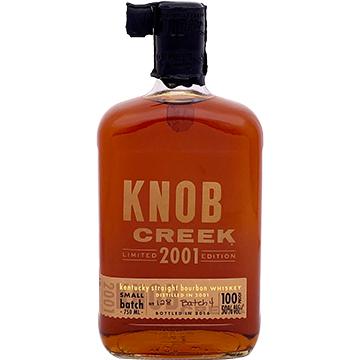 Knob Creek 2001 Limited Edition Small Batch Bourbon Whiskey