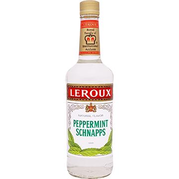 Leroux 40 Proof Peppermint Schnapps Liqueur