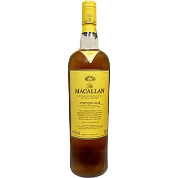 The Macallan Edition No. 3 Highland Single Malt Scotch Whiskey