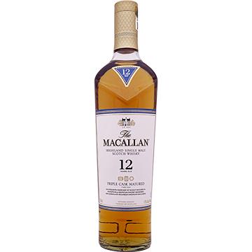 The Macallan 12 Year Old Triple Cask Matured Single Malt Scotch Whiskey