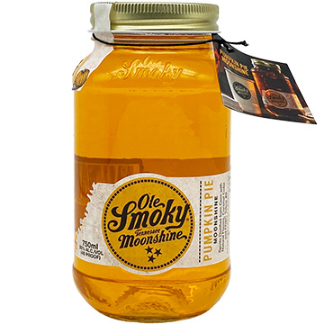Ole Smoky Pumpkin Pie Moonshine Tennessee Whiskey