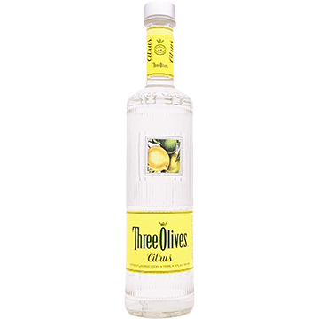 Three Olives Citrus Vodka
