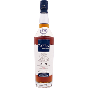 Zafra Master's Reserve 21 Year Old Rum