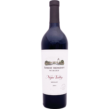 Robert Mondavi Winery Napa Valley Merlot 2014