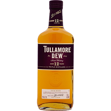Tullamore Dew 12 Year Old Special Reserve Irish Whiskey
