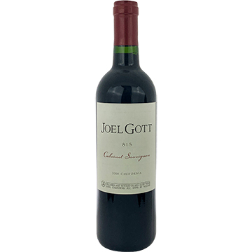 Joel Gott Blend No. 815 Cabernet Sauvignon 2016