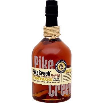 Pike Creek Finished in Vintage Port Barrels Canadian Whiskey
