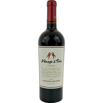 Menage a Trois Red Blend 2017