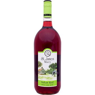 St. James Winery Velvet Red