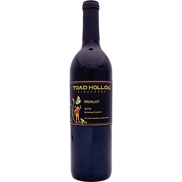 Toad Hollow Richard McDowell's Selection Merlot 2016