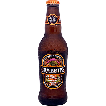 Crabbie's Spiced Orange Alcoholic Ginger Beer