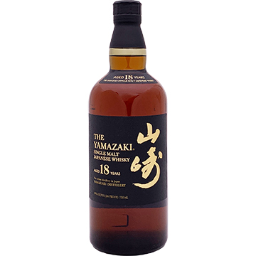 Yamazaki 18 Year Old Single Malt Whiskey