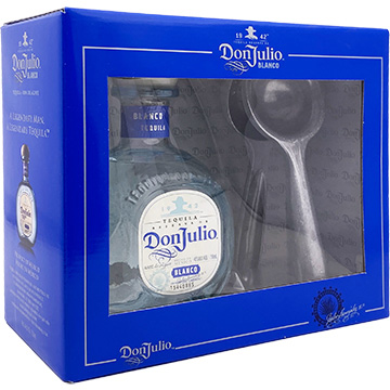 Don Julio Blanco Tequila Gift Set with Lime Press