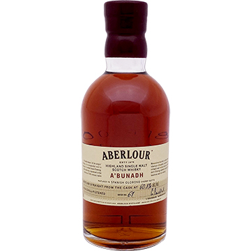 Aberlour A'Bunadh Single Malt Scotch Whiskey