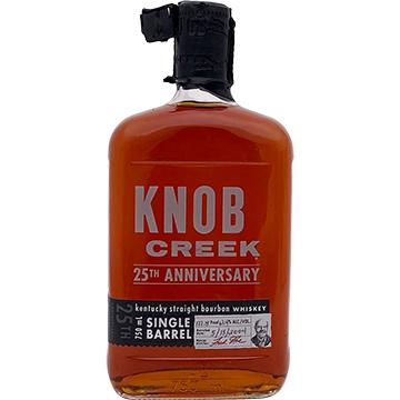 Knob Creek 25th Anniversary Single Barrel Bourbon Whiskey