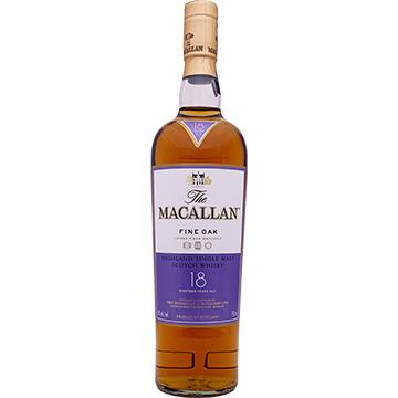 The Macallan 18 Year Old Triple Cask Matured Single Malt Scotch Whiskey