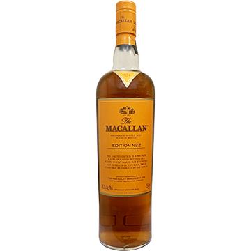 The Macallan Edition No. 2 Highland Single Malt Scotch Whiskey