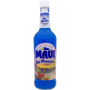Maui Blue Hawaiian Schnapps Liqueur